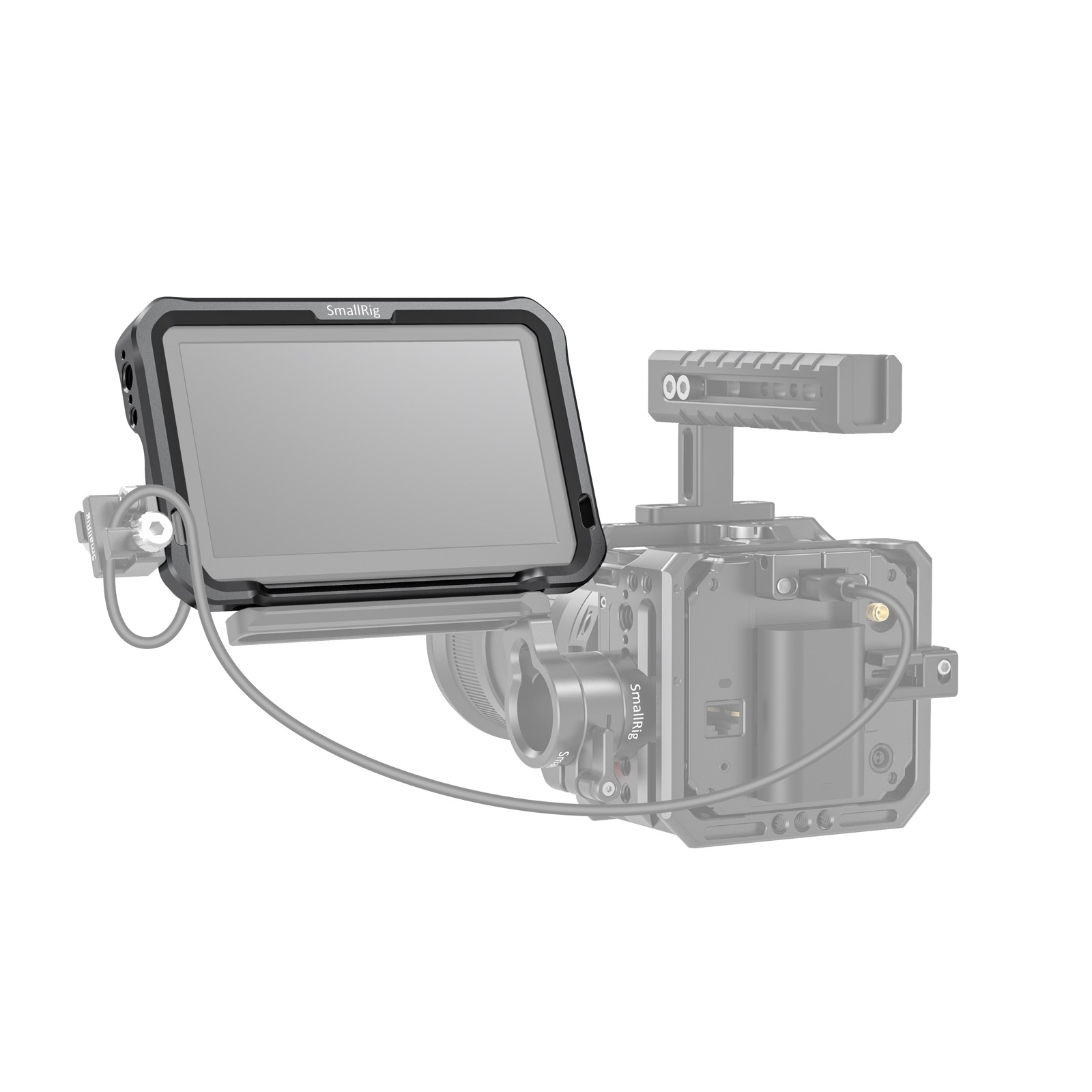 """SmallRig Monitor Cage with Sun Hood for SmallHD FOCUS OLED Series (5.5"""") CMS2405"""