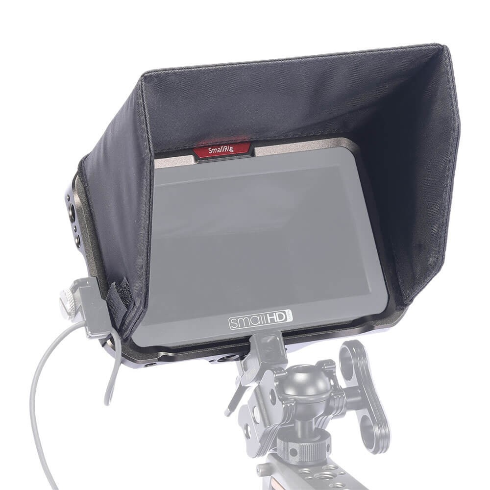 "SmallRig Cage with Sun Hood for SmallHD FOCUS 5"" HDMI/SDI Monitors CMS2641"