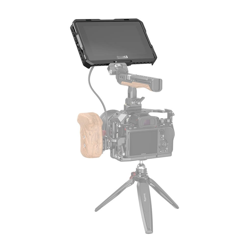 SmallRig Cage with Sun Hood for SmallHD 702 Touch Monitor CMS2684