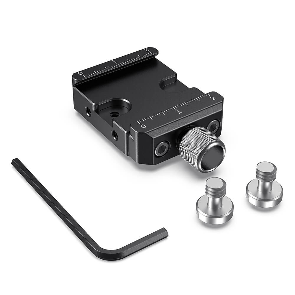 SmallRig Arca-Type Quick Release Clamp for DJI Ronin S/Ronin SC and ZHIYUN Crane Series 2S /Weebill S Gimbals DBC2506B