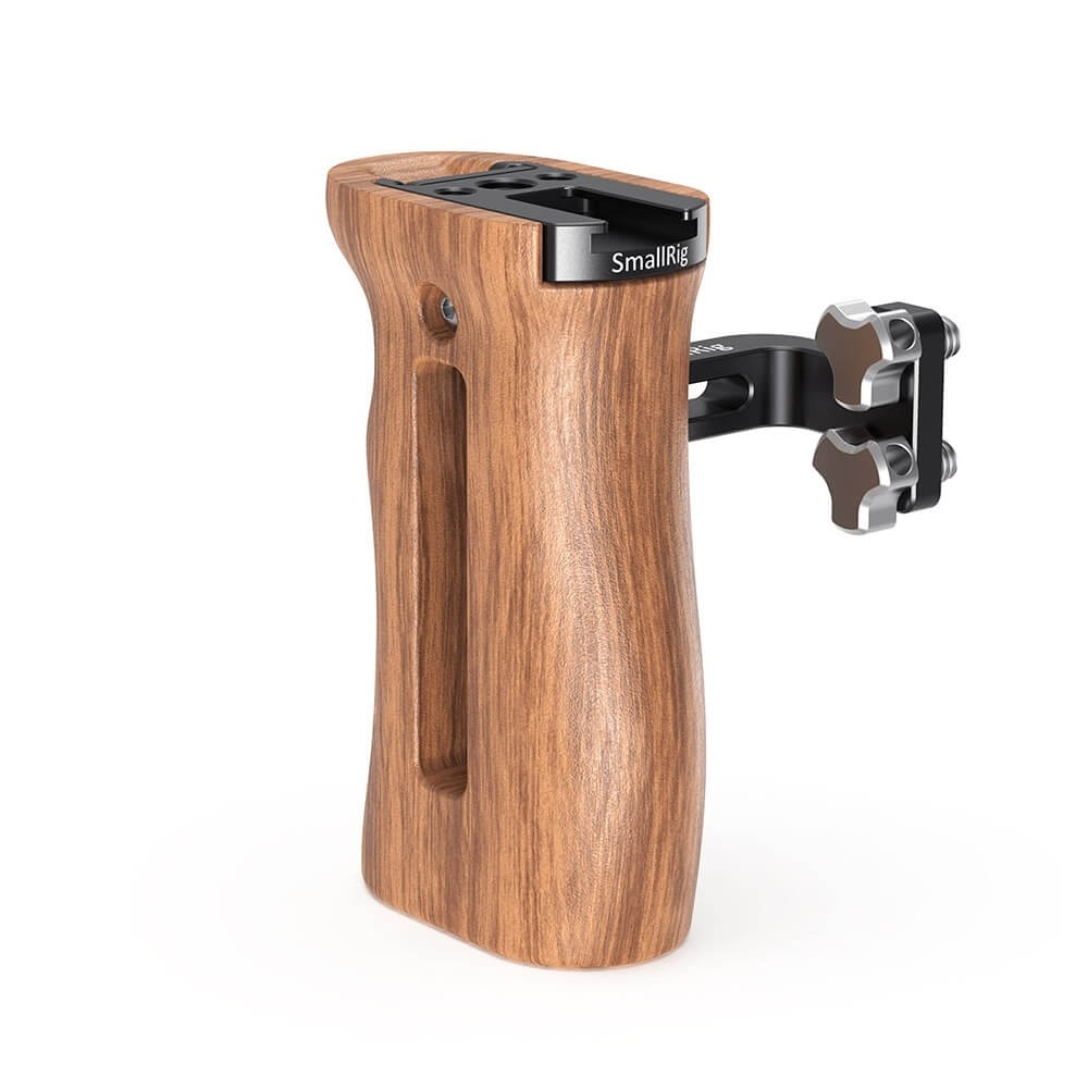 SmallRig Wooden Universal Side Handle HSN2093C