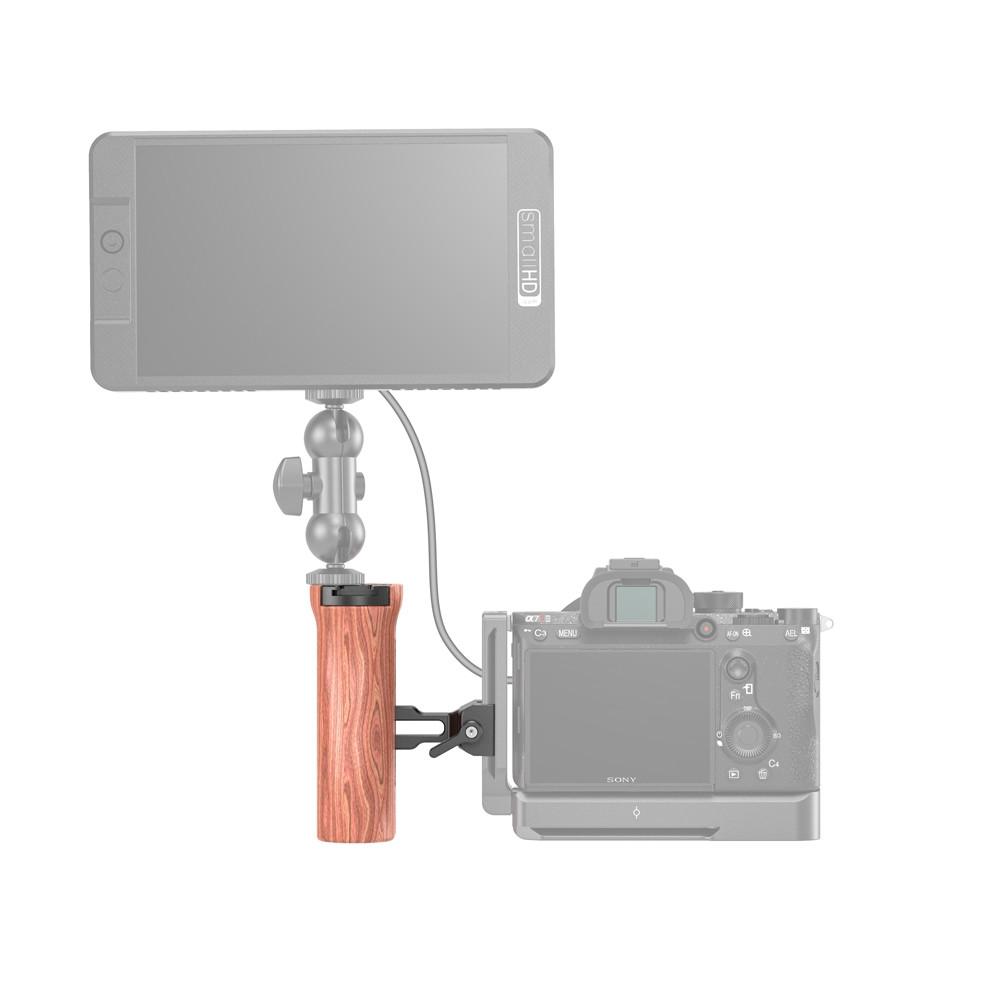 SmallRig Arca Compatible Wooden Side Handle HSN2399