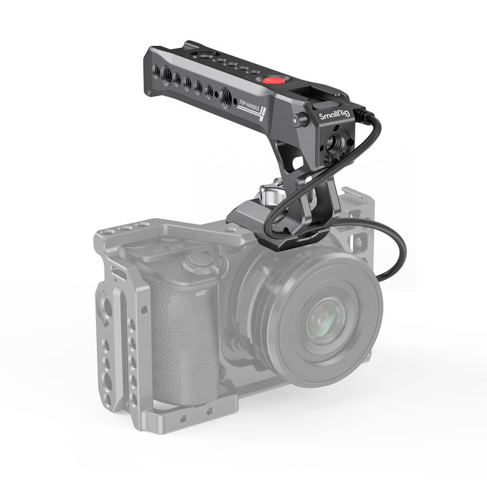 SmallRig NATO Top Handle with Record Start/Stop Remote Trigger for Sony Mirrorless Cameras HTN2670B