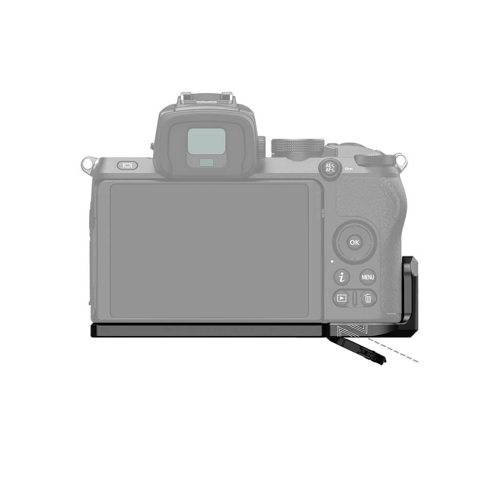 SMALLRIG Mounting Plate for Nikon Z50 Camera LCN2525