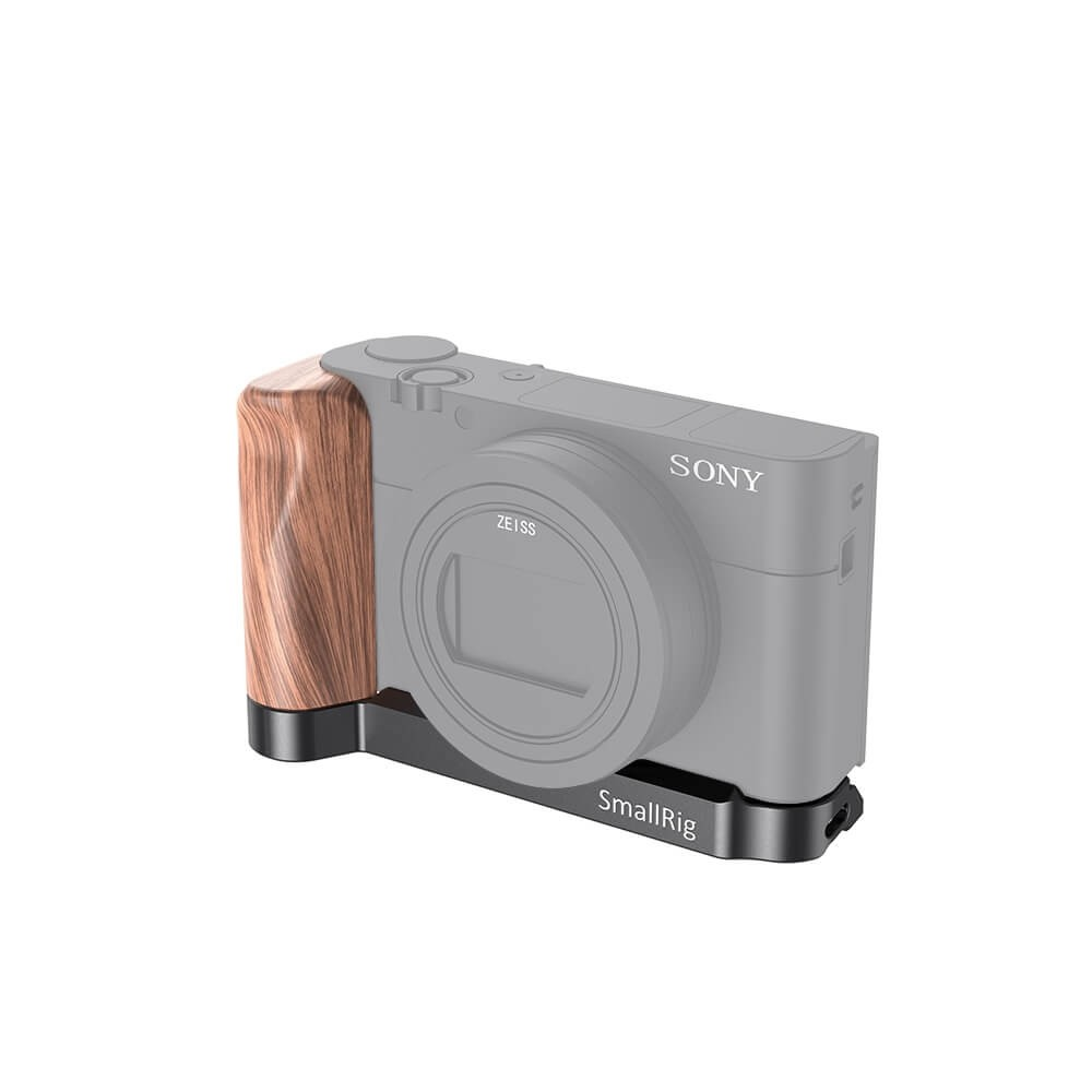SmallRig L-Shaped Wooden Grip for Sony RX100 III/IV/V(VA)/VI/VII LCS2467