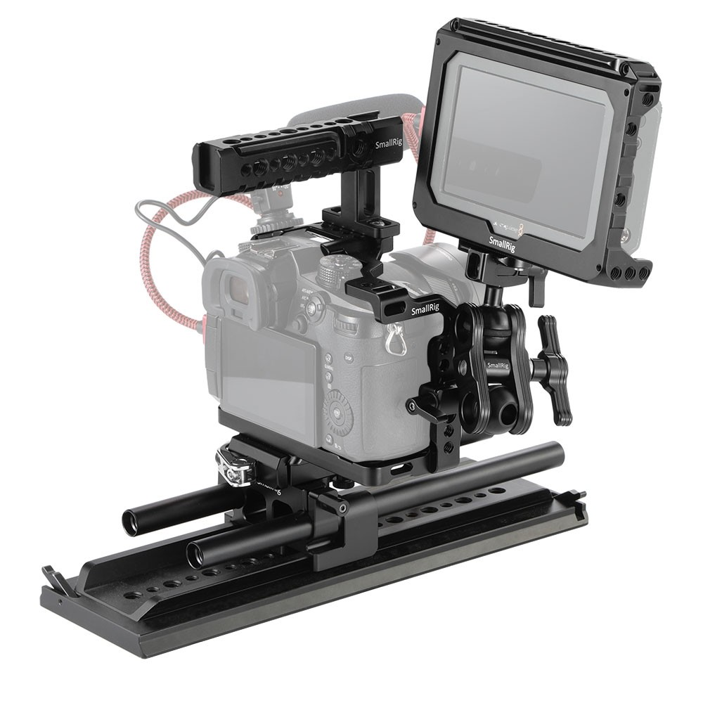 SmallRig Top Handle and Baseplate Kit for Panasonic GH5 PG0001