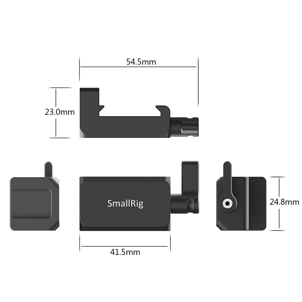 SmallRig Cold Shoe Mount for Mobile Phone Head BUC2369