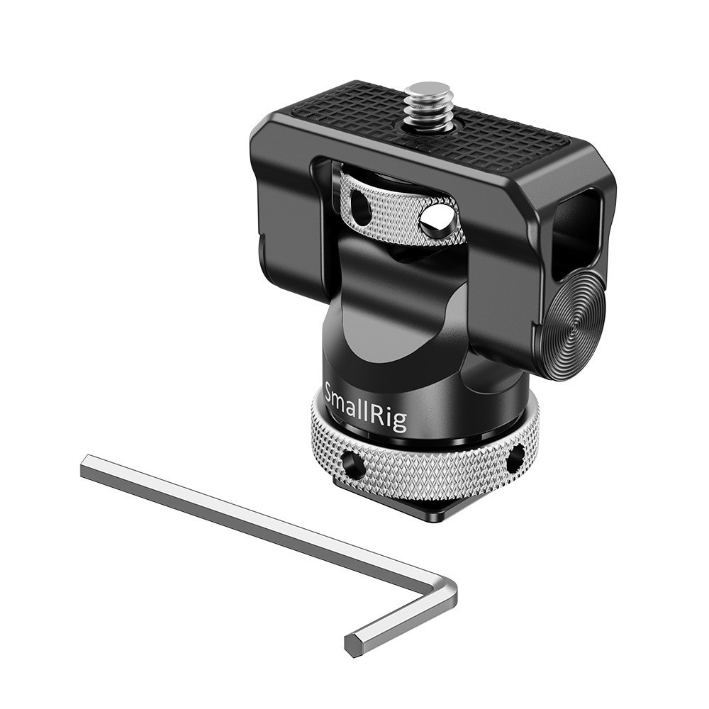 SmallRig Swivel and Tilt Monitor Mount with Cold Shoe BSE2346B