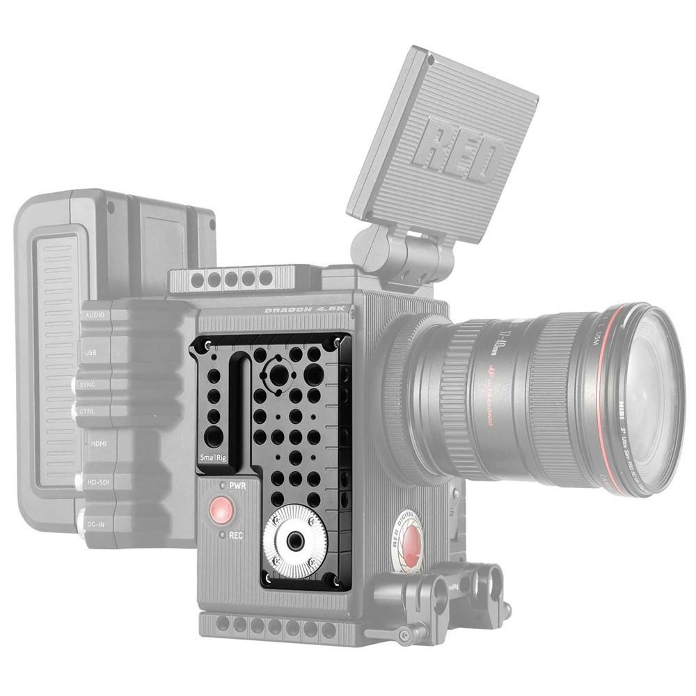 SMALLRIG RED SCARLET-W/ EPIC-W/RAVEN/ WEAPON Right Side Plate 1848B