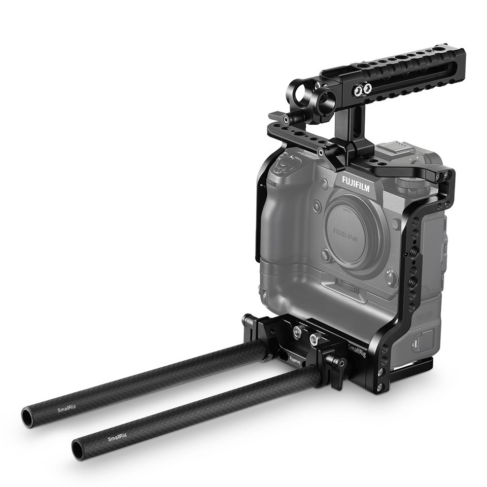 SmallRig Cage Kit for Fujifilm X-H1 Camera with Battery Grip 2136