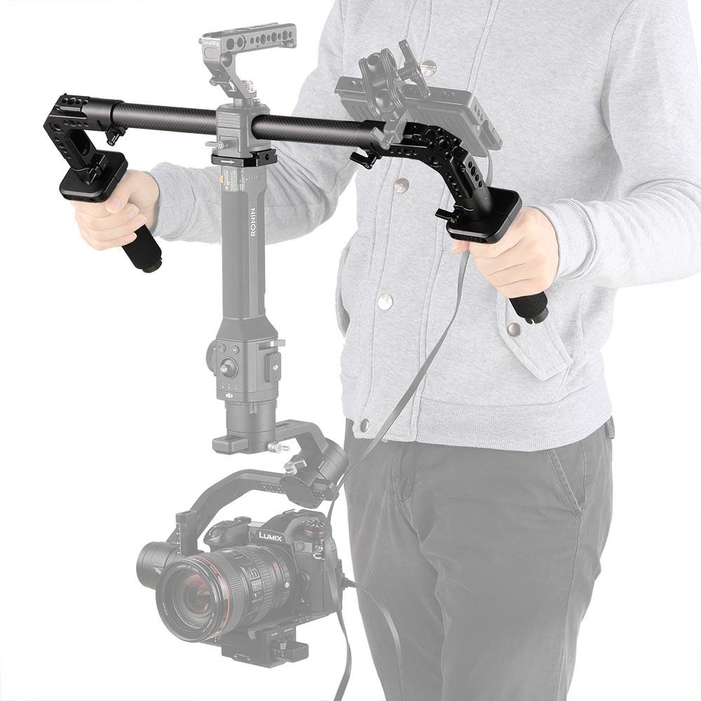 SmallRig Dual Handgrip for Handheld Gimbal DJI Ronin S/Zhiyun Crane Series 2210
