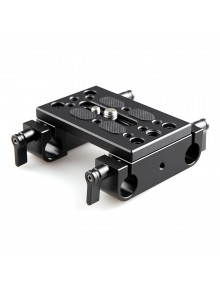 SmallRig Baseplate with Dual 15mm Rod Clamp 1775