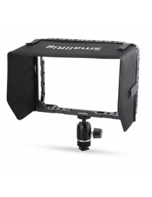 SMALLRIG 7 Monitor Cage with Sunhood for Blackmagic Video Assist 1988