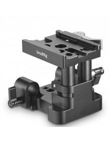 SmallRig Universal 15mm Rail Support System Baseplate (QR Plate Excluded) 2145B