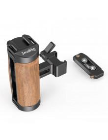 SmallRig Wooden NATO Side Handle (with Quick Release NATO Rail)2978