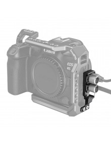 SmallRig HDMI and USB-C Cable Clamp for EOS R5 and R6 Cage 2981