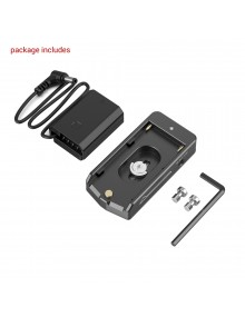 SmallRig NP-F Battery Adapter Plate Lite with NP-FZ100 Dummy Battery 3095