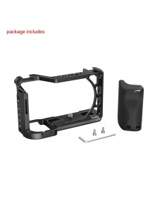 SmallRig Cage with Silicone Handle for Sony A6100/A6300/A6400 Camera 3164