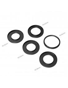 SmallRig Adapter Rings Kit (Φ52/55/58/62/86-95mm) for Mini Matte Box 3383