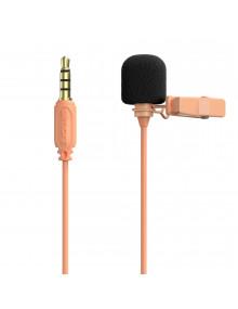 simorr Wave L1  3.5mm Lavalier Microphone   3389   Cantaloupe