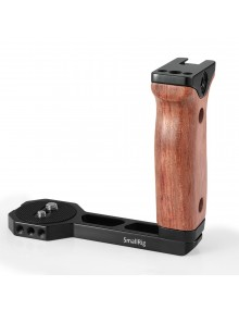 SmallRig Universal Wooden Side Handle for RoninS/Zhiyun Crane Series Handheld Gimbal BSS2222B