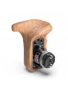 SmallRig Left Side Wooden Grip with Arri Rosette Bolt-On Mount KSAP2757