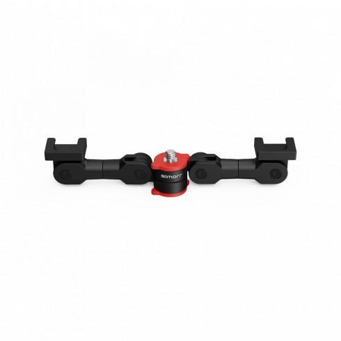 simorr Dual Cold Shoe Extension Bar 3483