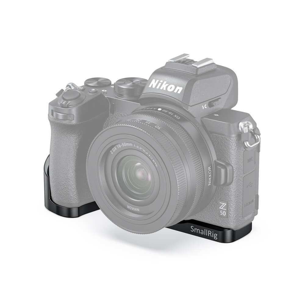 SMALLRIG VLOG L-SHAPE PLATE FOR NIKON Z50 CAMERA LCN2525