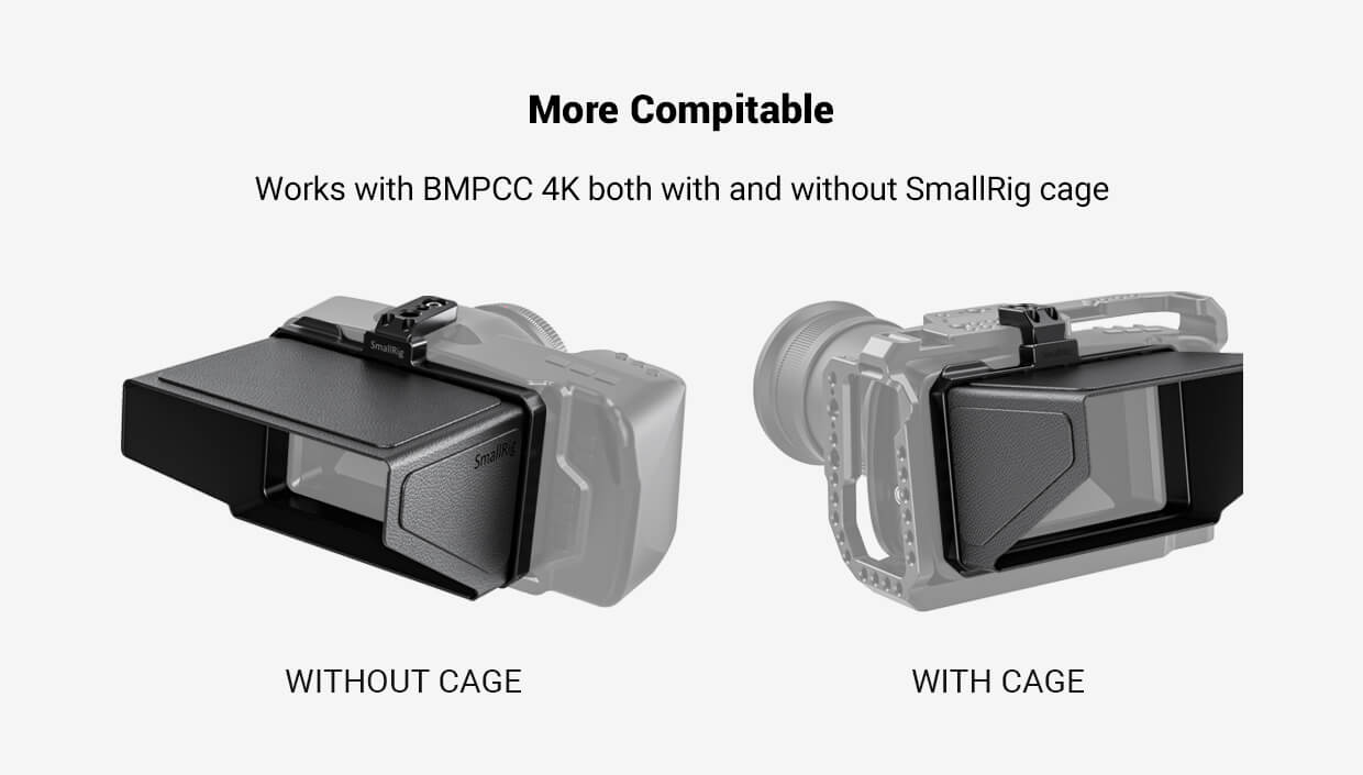 SmallRig Sun Hood for BMPCC 4K 2299